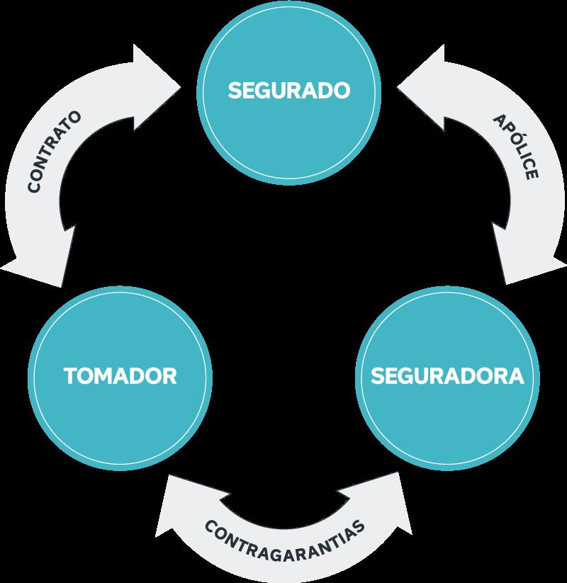 Estrutura do seguro garantia das modalidades tradicionais